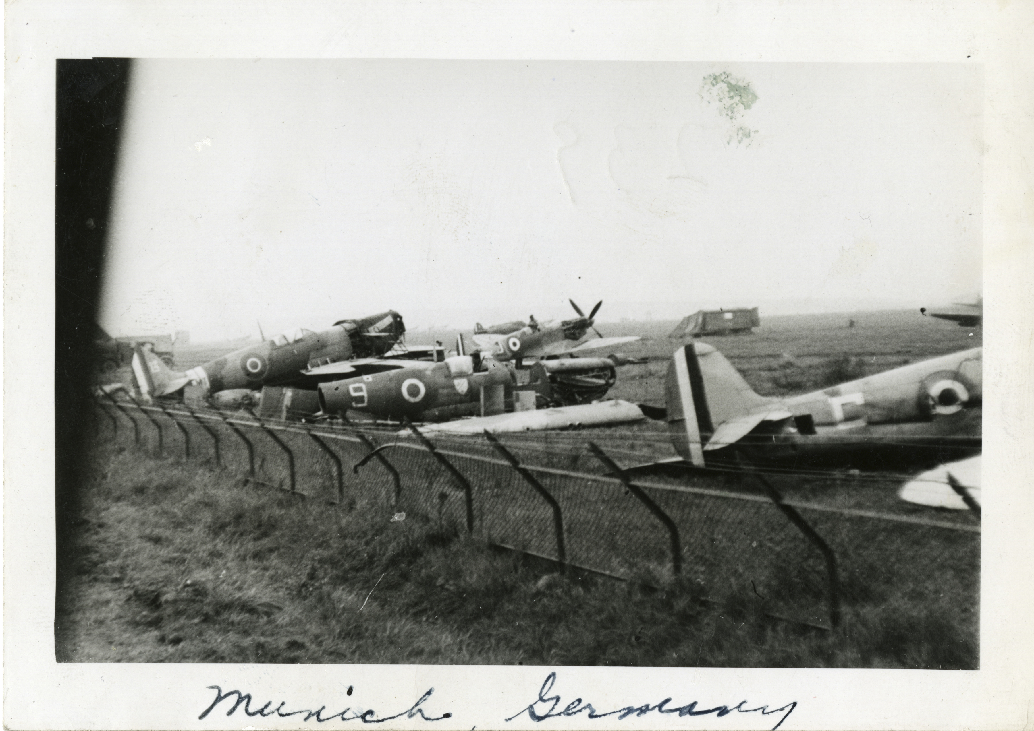 Damaged British aircraft in Germany | The Digital