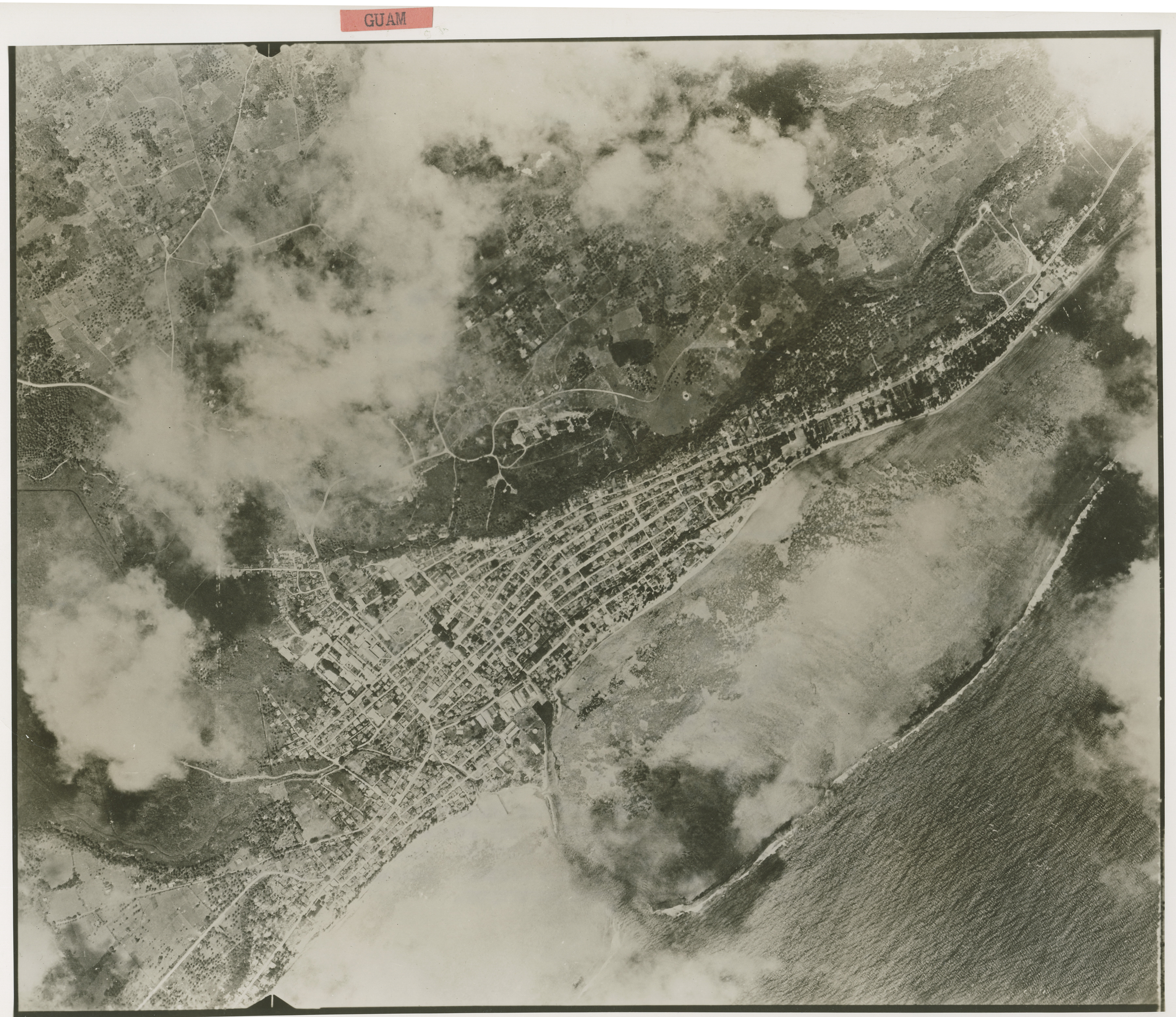 Aerial reconnaissance view of guam before the landings in july 1944 aerial reconnaissance view of guam before the landings in july 1944 the digital collections of the national wwii museum oral histories gumiabroncs Images